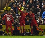Plymouth 0-1 Liverpool: Leiva leaps to Reds' rescue